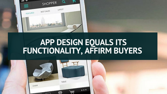 App Design Equals Its Functionality, Affirm Buyers