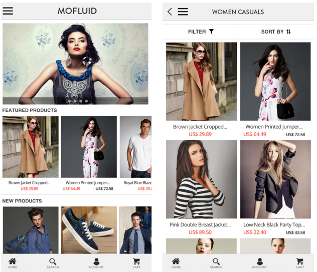 Mofluid 2.0 : The Complete Magento Mobile App Solution