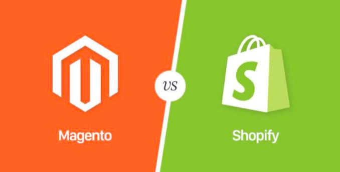 Magento Vs Shopify [Infographics]