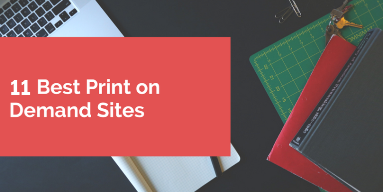 11 Best Print on Demand Sites 2019 - Mofluid com