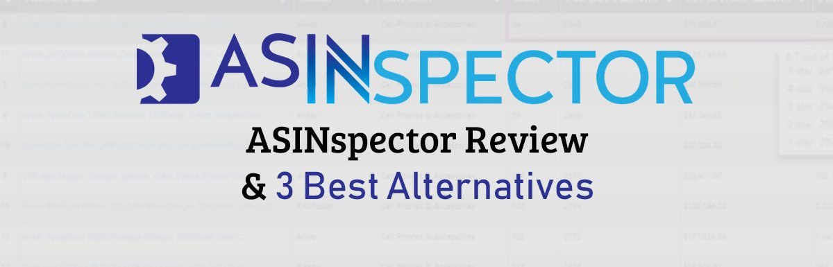 ASINspector Review & 3 Best Alternatives
