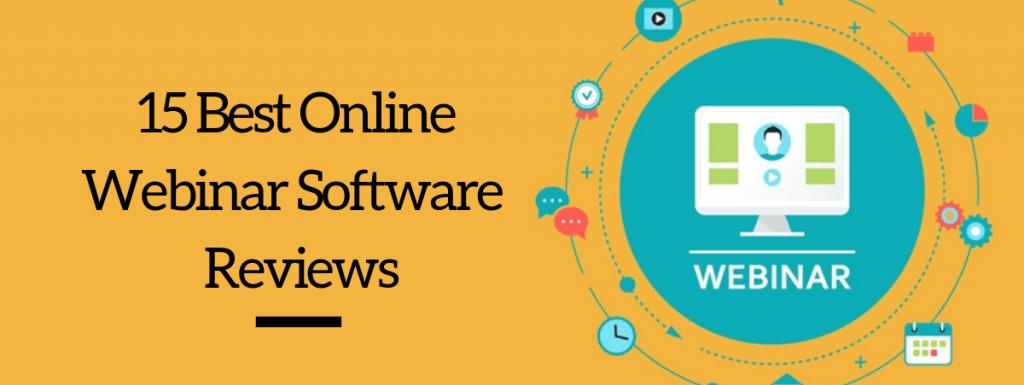 15 Best Live Webinar Platforms 2021 [Free & Paid]