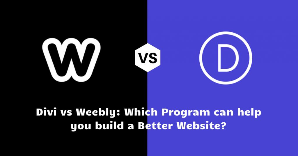 Divi vs Weebly