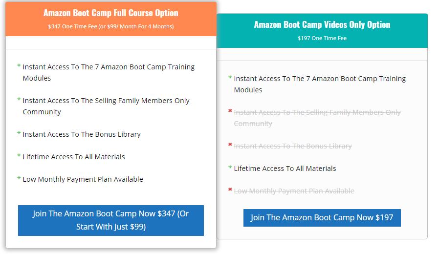 amazon boot camp coupon code