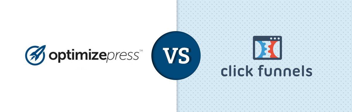 OptimizePress Vs ClickFunnels