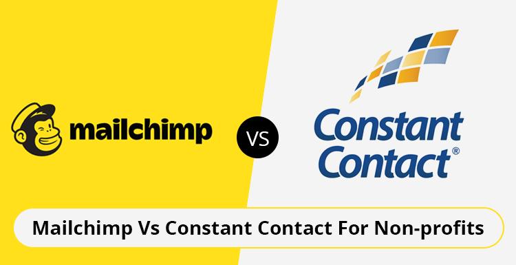 Mailchimp Vs Constant Contact For Nonprofits