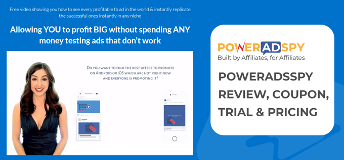 PowerAdsSpy Review, Coupon, Trial & Pricing