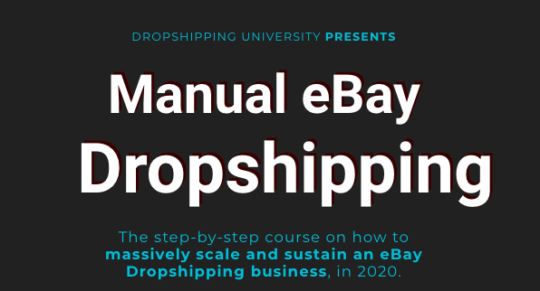 Manual eBay Dropshipping University