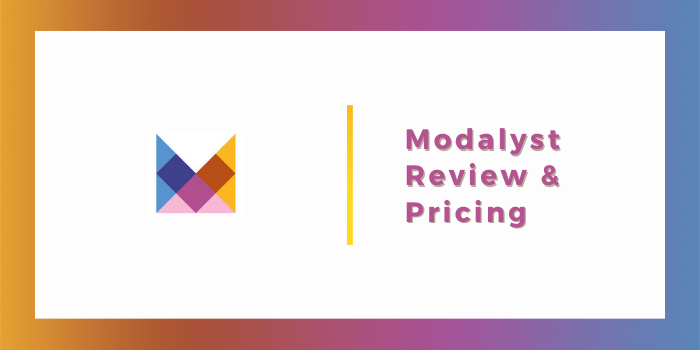 Modalyst Review & Pricing