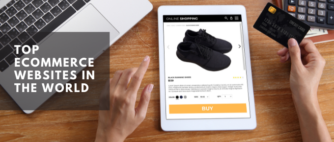Top ecommerce websites in the world